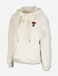 """Arena Texas Tech Red Raiders """"Snap"""" Sherpa Henley Pullover"""