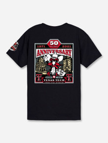 YOUTH Texas Tech Red Raiders 2021 Official Wreck 'Em Tech Game Day Black T-Shirt