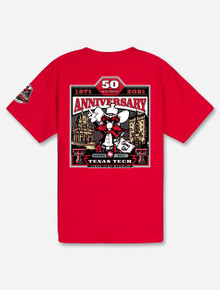 YOUTH Texas Tech Red Raiders 2021 Official Wreck 'Em Tech Game Day Red T-Shirt