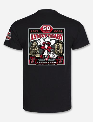 Texas Tech Red Raiders 2021 Official Wreck 'Em Tech Game Day Black T-Shirt