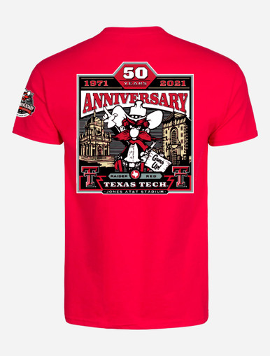 Texas Tech Red Raiders 2021 Official Wreck 'Em Tech Game Day Red T-Shirt