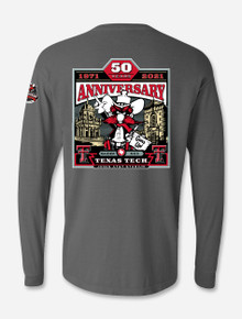 Texas Tech Red Raiders LIMITED EDITION 2021 Official Wreck 'Em Tech Game Day Comfort Colors Longsleeve Shirt
