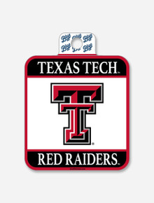 """Texas Tech over Red Raiders """"Hold True"""" Texas Tech Decal"""