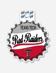 """Texas Tech Red Raiders """"Just Cause"""" Bottle Cap Decal"""