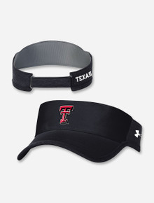 Texas Tech Red Raiders Under Armour Sideline 2021 Isochill Armour Visor