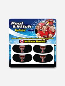 Texas Tech Red Raiders Double T Two Pair Eye Black Strips