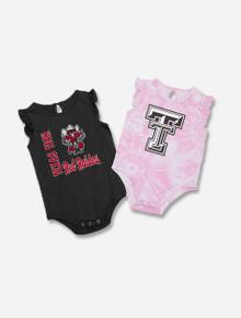 "Arena Texas Tech Red Raiders ""Ruffles ""INFANT Onesie 2-Pack Set"