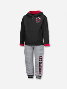 """Arena Texas Tech Red Raiders """"Poppies"""" TODDLER Long Sleeve Pants Set"""