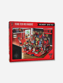 """Texas Tech Red Raiders """"A Real Nailbiter"""" 500 Piece Puzzle"""