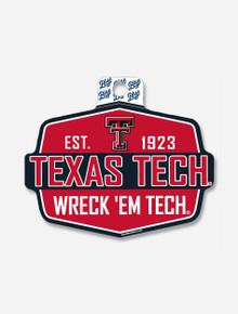 "Texas Tech Red Raiders ""Get Out"" Wreck' Em Tech Decal"