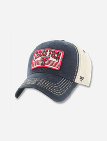"""47 Brand Texas Tech Red Raiders """"The Shaw"""" Texas Tech over Vault Double T Patch Adjustable Cap"""