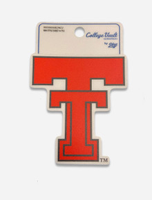 Texas Tech Red Raiders Vault Double T Decal