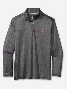 """Tommy Bahama Texas Tech Red Raiders """"Sport Delray"""" Quarter Zip Pullover"""