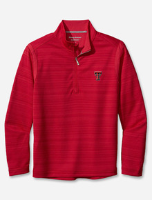 "Tommy Bahama Texas Tech Red Raiders""Sport Tidal"" Half Zip"