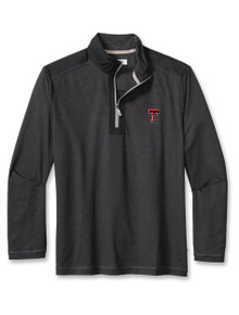 """Tommy Bahama Texas Tech Red Raiders""""Sport On Deck"""" Half Zip Pullover"""