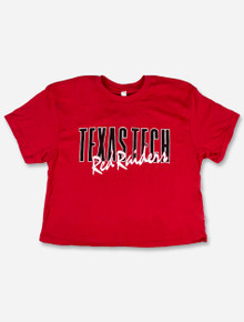 """Texas Tech Red Raiders """"As If """" Crop Top"""