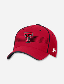 """Under Armour Texas Tech """"Sideline 2021 Blitzing Accent"""" Stretch Fit"""