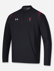"""Under Armour Texas Tech Red Raiders """"Motivate"""" Woven 1/4 Zip Pullover"""