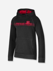 Under Armour Texas Tech Red Raider Sideline 2021 Youth Black Fleece Hood