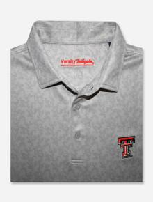 "Texas Tech Red Raiders ""Pin High"" English Regency Pattern Men's Polo"