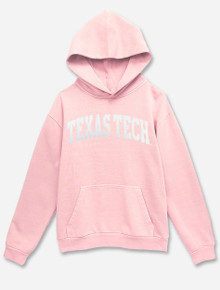 "Texas Tech Red Raiders ""Classic Twill Arch "" Comfy Crew Sweatshirt"