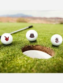 Texas Tech Raider Red 50th Anniversary 3 Pack of Golf Balls