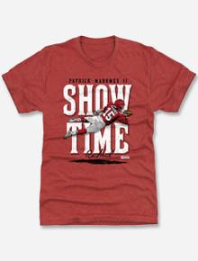"Texas Tech Red Raiders Patrick Mahomes Kansas City ""Jump Throw"" T-Shirt"