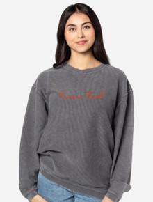 "Texas Tech Red Raiders ""Scripted"" Corduroy Sweatshirt"