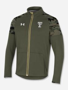 "Under Armour Texas Tech 2021 ""Convoy"" Military Appreciation Full Zip Jacket"