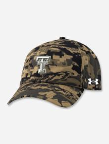 "Under Armour Texas Tech 2021 ""TaskForce"" Military Appreciation Adjustable Cap"