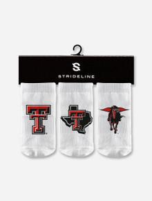 Texas Tech Red Raiders Strideline 3 Pack Baby Socks