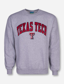 Champion® Tackle Twill Texas Tech Arch Over Double T Sweatshirt