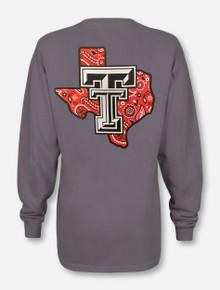 """Texas Tech Red Raiders """"Bandana Pride"""" Long Sleeve T-shirt"""
