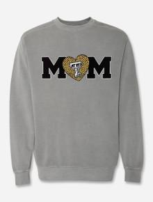 "Texas Tech Red Raiders ""Wild About Mom"" Grey Comfort Color Sweatshirt"