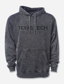 """Texas Tech Red Raiders """"Acid Rock"""" Embroidered Mineral Wash Hoodie"""