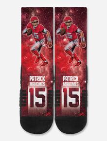 "Texas Tech Strideline Patrick Mahomes #15 ""Galaxy"" Sublimated Sock"