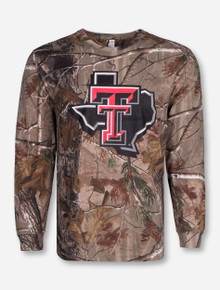 Texas Tech Lone Star Pride on Camo Long Sleeve
