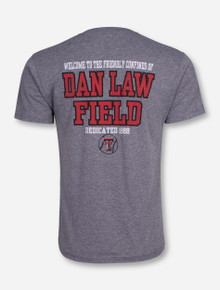 Texas Tech Dan Law Field Baseball Heather Grey T-Shirt