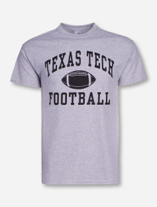 Texas Tech Football Heather Grey T-Shirt