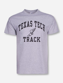 Texas Tech Track Heather Grey T-Shirt