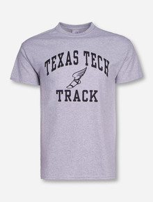 Texas Tech Track Heather Grey T-Shirt