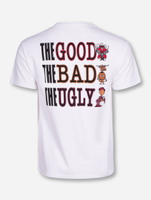 The Good The Bad The Ugly White T-Shirt - Texas Tech
