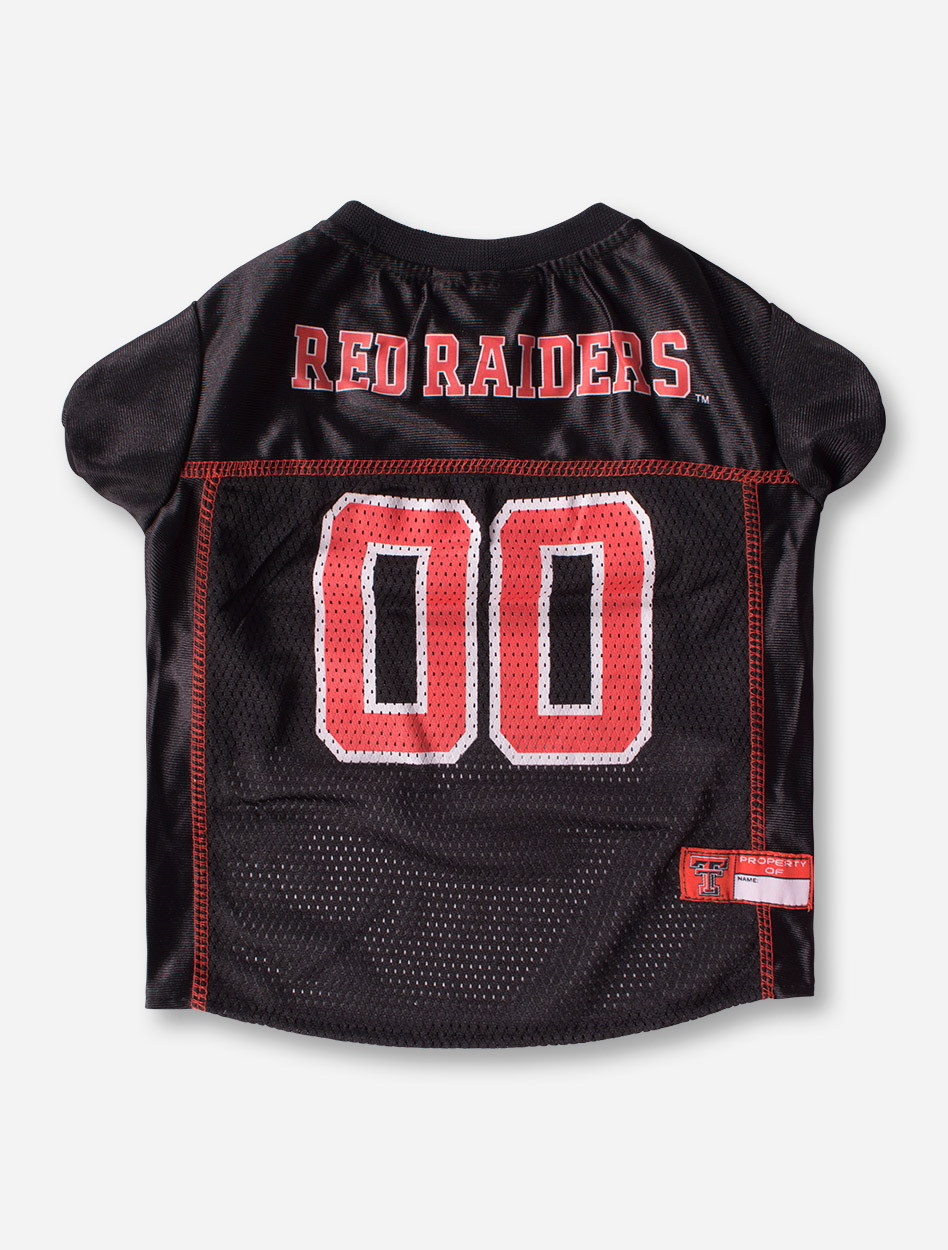 ea18d6c3227 Texas Tech #00 Black Pet Jersey - Red Raiders
