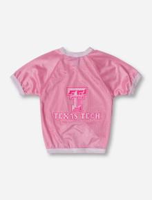 Texas Tech Pink Mesh Pet Jersey