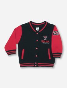 Arena Letterman's TODDLER Black & Red Jacket