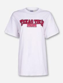 Texas Tech Mom White T-Shirt