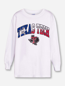 Texas Tech Lone Star Pride on YOUTH White Long Sleeve