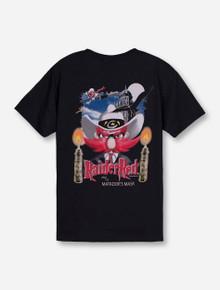 Raider Red Matador's Mask on YOUTH Black T-Shirt