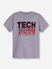 Texas Tech XXS Athlete in Training on YOUTH Heather Grey T-Shirt