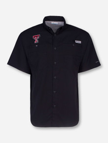 "Texas Tech Columbia ""Tamiami"" Fishing Shirt"